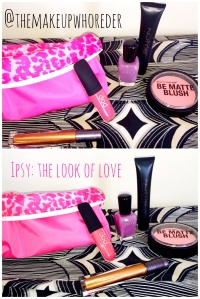 Ipsy Glam Bag February Makeup