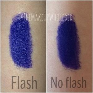 Melt Cosmetics Lipstick Swatch Blue Lipstick