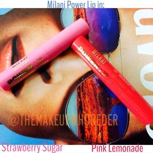 Pink Lemonade Strawberry Sugar Power Lip Milani Cosmetics