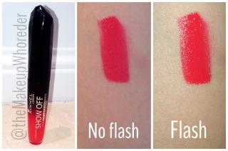 Rimmel Show Off 101 Lipstick Swatch