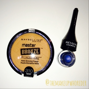 Maybelline Revlon Eyeliner Matte Bronzer Powder makeup
