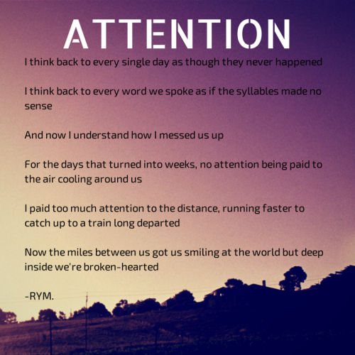 Attention by Raisa
