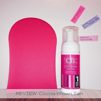 REVIEW- Cocoa Brown Tan