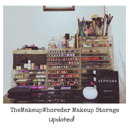 TheMakeupWhoreder Makeup Storage