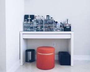 Malm Ikea Makeup Vanity